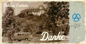 Dankeskarte oldschool