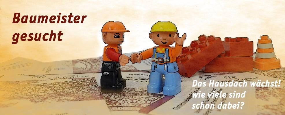 Förderverein mit Duplo Baumeister Aktion zur Spendergewinnung