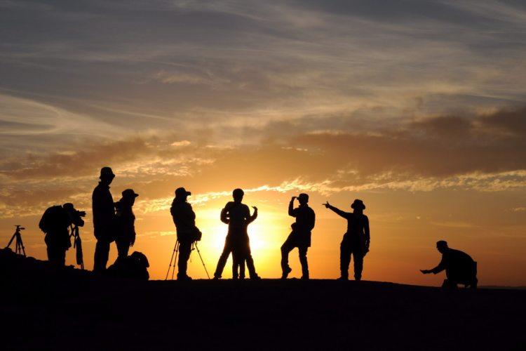 Foto Seminar im Sonnenuntergang