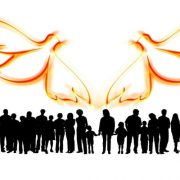 unterschiedliche Menschen leben mit dem Heiligen Geist
