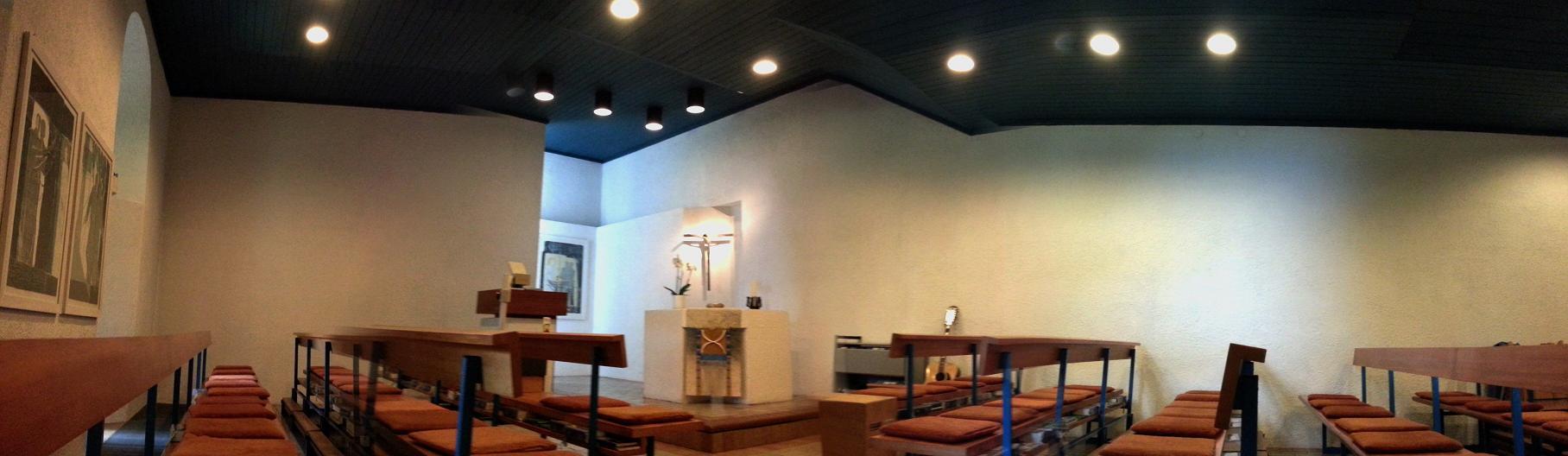 Kapelle des Schlosses für Gottesdienste und Andachten