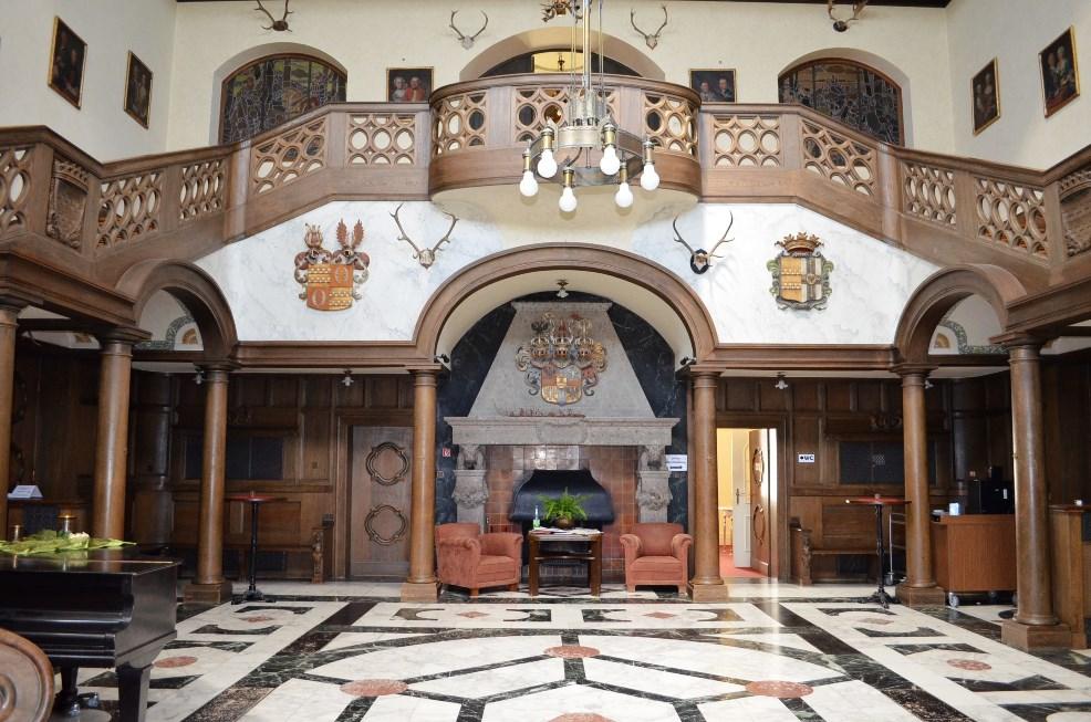 Kuppelhalle des Schlosses als besonderes Schmuckstück mit einzigartigem Klang