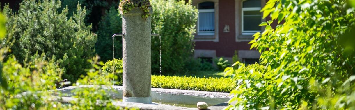 Brunnen im Franziskushof