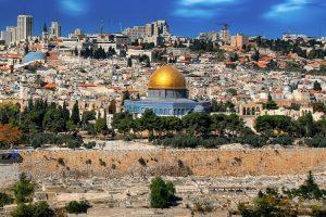 Israel Stadtbild mit Tempel