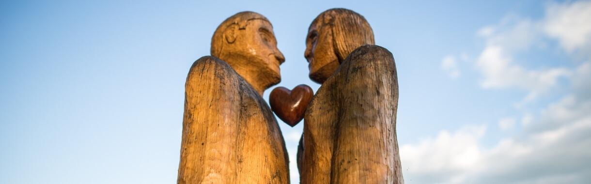 Liebe Weg der Sinne Herz