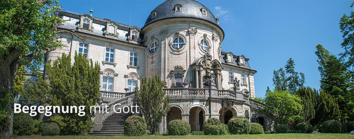 Begegnung mit Gott suchen auf Schloss Craheim durch Seminare und Freizeiten