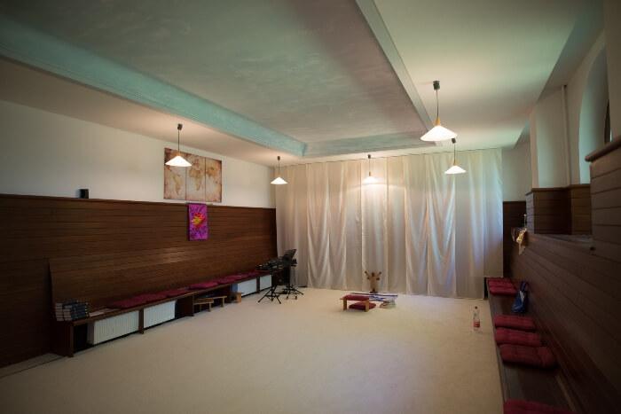 Der Gebetsraum zur Anbeten und Lobpreis für Gott