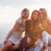 Frauenpower drei Freundinnen