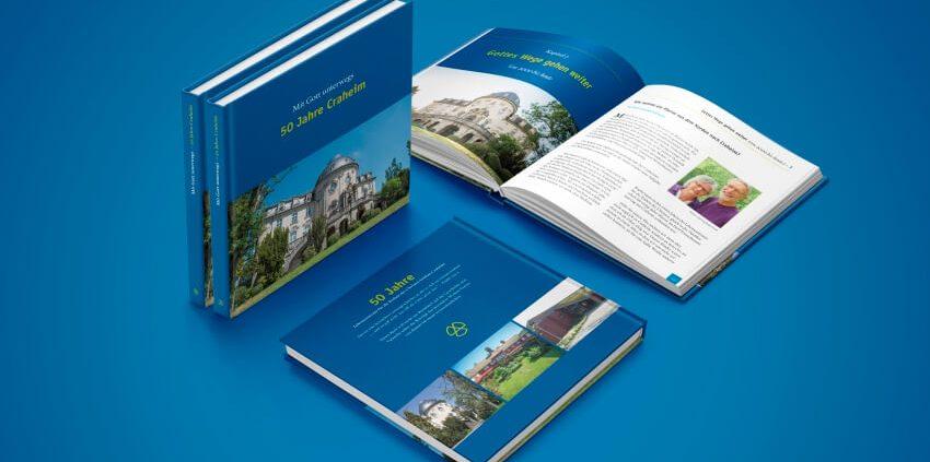 Buch der Begegnungsstätte Schloss Craheim zum 50jährigen Jubiläum