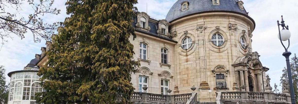 Schloss Craheim Kuppelansicht